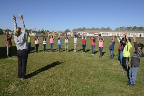 JUST RUN Youth Fitness Program